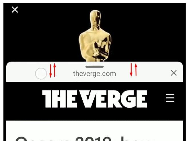 Перетаскиваемое по экрану AMP-страницы изображение