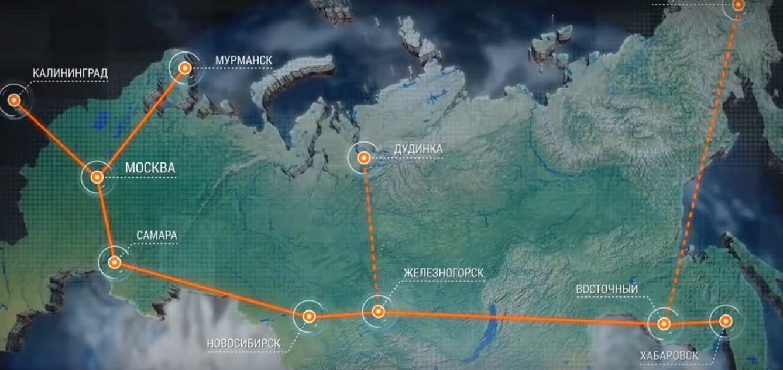 Интернет-пользователи рунета на карте РФ